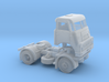 TT-scale (1:120) DAF DO 2400 2x4 truck. 3d printed