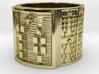 ODISA Ring Size 13.5 3d printed