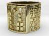 IROSOUMBO Ring Size 11-13 3d printed