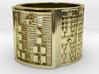 IROSOGUNDA Ring Size 13.5 3d printed