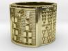 IROSOFUN Ring Size 11-13 3d printed