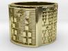 IROSOFUN Ring Size 13.5 3d printed