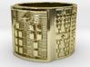 OJUANIBARA Ring Size 14 3d printed