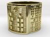 OBARATURA Ring Size 11-13 3d printed