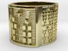 OBARATURA Ring Size 14 3d printed