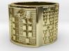 OKANASODDE Ring Size 14 3d printed