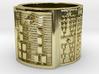 OGUNDAROSO Ring Size 11-13 3d printed