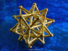 Stellated Icosahedron - 20 Pointed Merkaba 3d printed