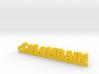 COLOMBAIN Keychain Lucky 3d printed