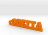 ODETTA Keychain Lucky 3d printed