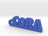 CORA Keychain Lucky 3d printed