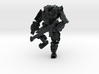 Combat Walker, 15mm Scale, Unbased 3d printed