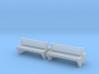 TJ-H04555x2 - bancs de quai en beton, doubles 3d printed