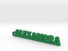ALEXANDRA Keychain Lucky 3d printed