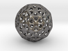 Mystic Icosahedron, Enclosing Small Solid Sphere 3d printed