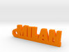 MILAN Keychain Lucky 3d printed