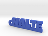 MALTE Keychain Lucky 3d printed