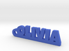 OLIVIA Keychain Lucky 3d printed