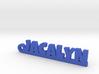 JACALYN Keychain Lucky 3d printed