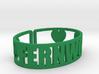 Fernwood Cuff 3d printed