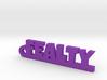 FEALTY Keychain Lucky 3d printed