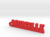 MIREILLE Keychain Lucky 3d printed