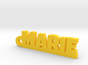 MARIE Keychain Lucky 3d printed