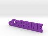 CORRINE Keychain Lucky 3d printed