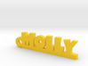 MOLLY Keychain Lucky 3d printed
