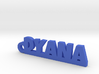 DYANA Keychain Lucky 3d printed
