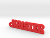 KRISTER Keychain Lucky 3d printed