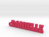 DANIELLE Keychain Lucky 3d printed