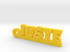JUSTE Keychain Lucky 3d printed