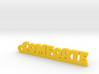 COMFORTE Keychain Lucky 3d printed