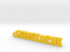 CHRISTOPHE Keychain Lucky 3d printed