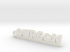 OURSON Keychain Lucky 3d printed