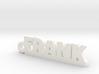 FRANK Keychain Lucky 3d printed
