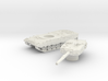 Leopard II tank (Germany) 1/100 3d printed