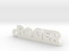 ROGER Keychain Lucky 3d printed