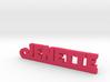 JENETTE Keychain Lucky 3d printed