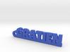 GRATIEN Keychain Lucky 3d printed
