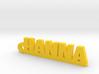 HANNA Keychain Lucky 3d printed