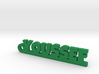 YOUSSEF Keychain Lucky 3d printed