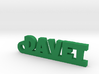 DAVET Keychain Lucky 3d printed