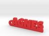 AGNES Keychain Lucky 3d printed