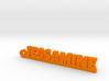 JESSAMINE Keychain Lucky 3d printed