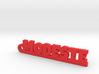 MODESTE Keychain Lucky 3d printed