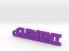 CLEMENT Keychain Lucky 3d printed