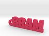 BRAM Keychain Lucky 3d printed