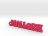 MALLORIE Keychain Lucky 3d printed